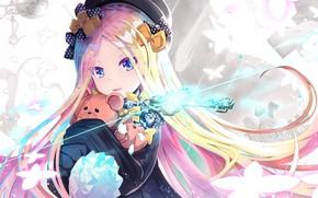 Картинка взгляд, игрушки, аниме, ключ, девочка, fate/grand order