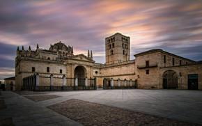 Картинка церковь, храм, Испания, Spain, Catedral de Zamora, Zamora