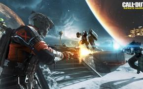 Картинка gun, game, weapon, Call Of Duty, rifle, suit, Call Of Duty Infinite Warfare