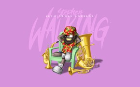 Картинка Music, Cover, Monstercat, Stephen Walking, Wake Up The House Is Underwater!