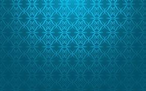 Обои синий, мозаика, фон, узор, текстура, mosaic