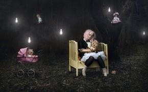 Обои куклы, женщина, ситуация