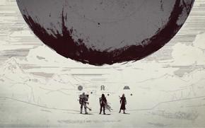 Картинка Hunter, Destiny, Warlock, Titan, Traveller, Destiny 2
