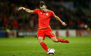 Картинка Gareth Bale, Football, Alexanderfavorsky, Wales, Speed