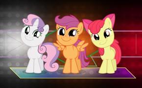 Картинка пони, милашки, малышки, My Little Pony