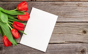 Картинка букет, тюльпаны, red, wood, romantic, tulips