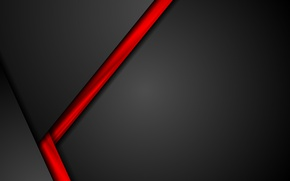 Картинка abstract, red, black, design, color, material, vector art