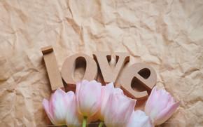Картинка тюльпаны, love, Праздник, день влюбленных