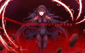 Картинка fate grand order, scathach, hajika