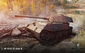 Картинка WoT, World of Tanks, Wargaming, VK 45.02 (P) Ausf. B
