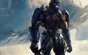 Обои cinema, sword, movie, Transformers, ken, blade, Optimus Prime, film, Prime, Transformers: The Last Knight, The ...