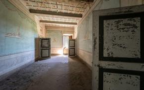 Картинка фон, двери, корридор