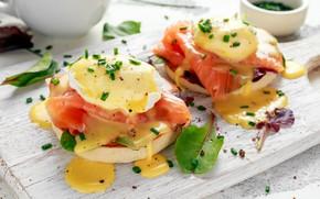 Картинка еда, рыба, сыр, закуска, разделочная доска, бутеброды