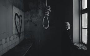 Картинка любовь, жизнь, смерть, человек, верёвка
