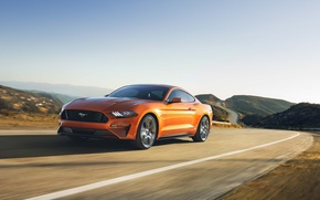 Обои Ford Mustang GT, Car