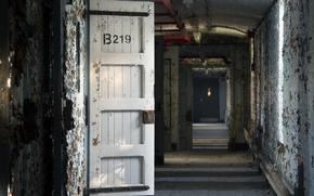 Картинка фон, двери, коридор