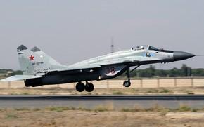 Обои МиГ-29, Авиабаза, Fulcrum, советский многоцелевой истребитель, ВВС России, четвёртого поколения, ОКБ МиГ