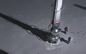 Картинка космонавты, аппарат, Space Pylons