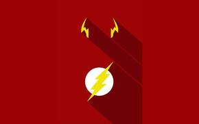 Картинка red, logo, yellow, hero, DC Comics, Flash, yuusha, tv series, The Flash, Barry Allen, Jay …