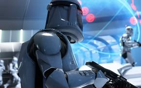Картинка оружие, Star Wars, солдаты, Star Wars Battlefront II