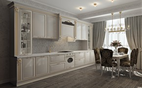 Картинка мебель, интерьер, кухня, помещение, Private flat - Gelendzhik
