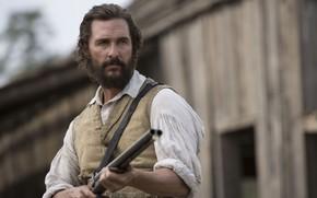 Картинка cinema, gun, weapon, man, movie, film, Matthew McConaughey, The Free State of Jones