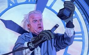 Картинка арт, Назад в будущее, Back to the Future, Кристофер Ллойд