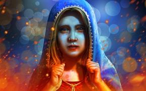 Картинка девочка, слёзы, Принцесса, Edikt Art, A princess