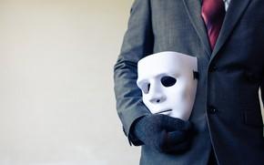 Картинка mask, costume, white mask