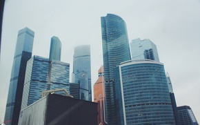 Картинка glass, skyscraper, moscow, height, moscow city
