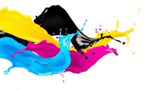 Картинка colors, liquid, paints