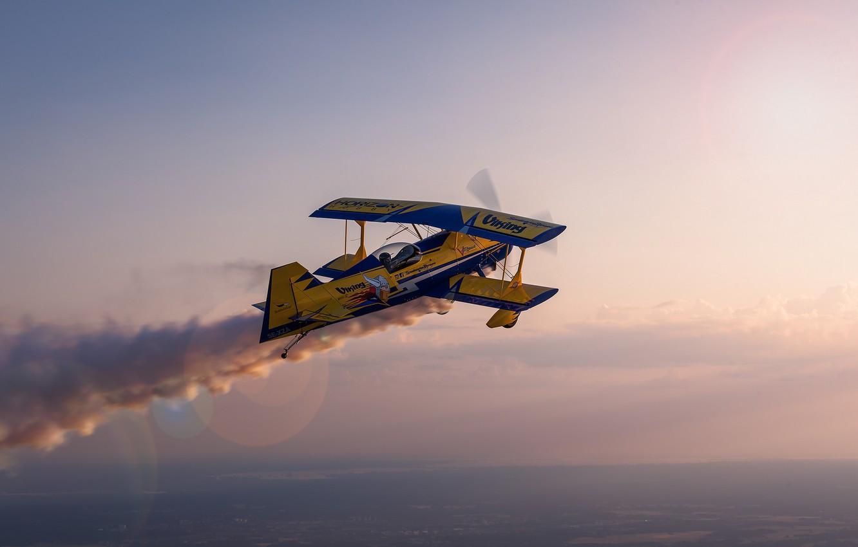 Обои Самолёт, Биплан. Авиация foto 11