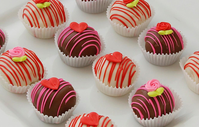 Фото обои конфеты, сладости, десерт, ассорти