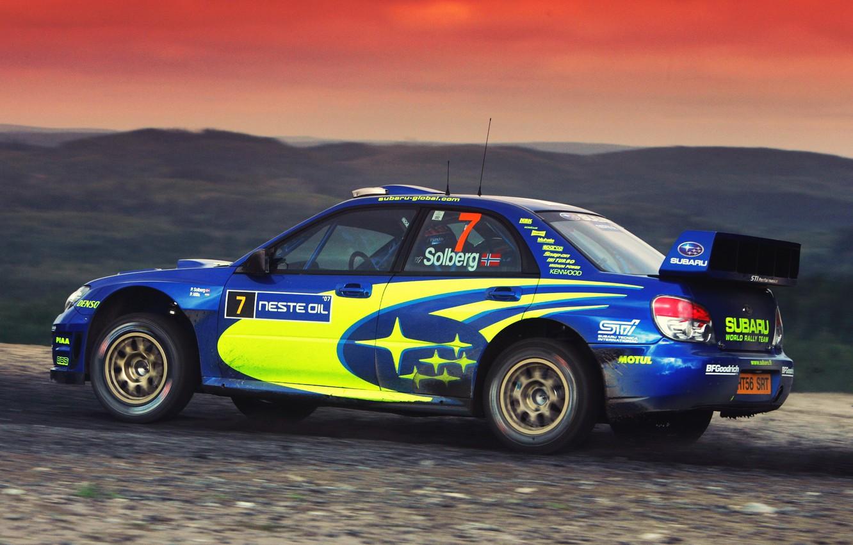 Фото обои Авто, Subaru, Impreza, Спорт, Машина, Гонка, WRX, Автомобиль, STI, WRC, Субару, Импреза, WRX STI, Solberg, …
