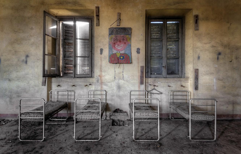 Фото обои больница, палата, детский отдел