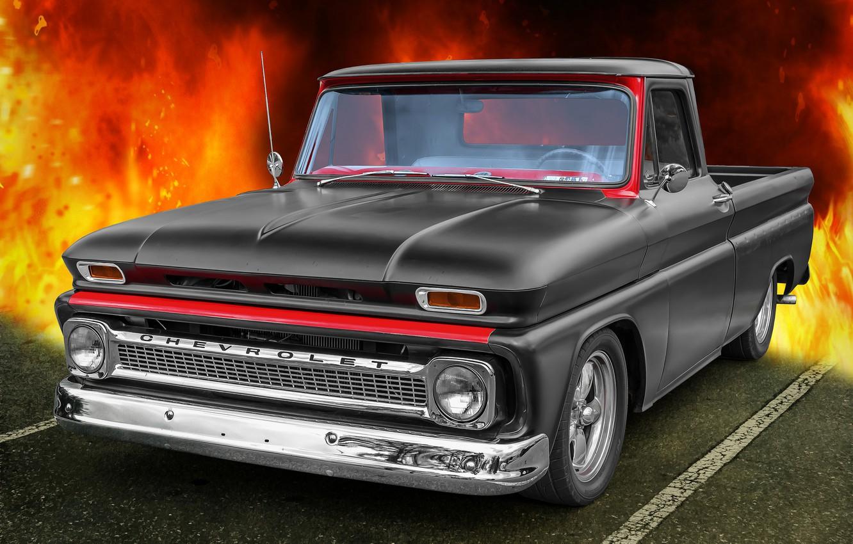 Фото обои Chevrolet, 1965, CK Truck
