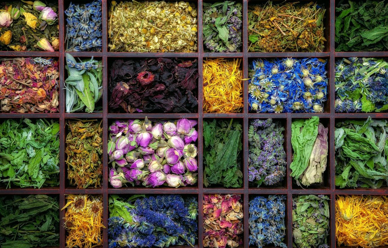 Фото обои цветы, чай, лоток, чаи