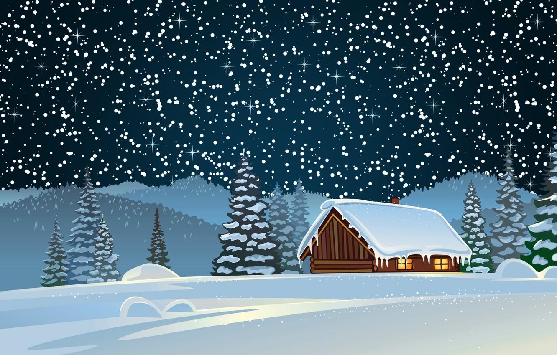 Снега много открытки