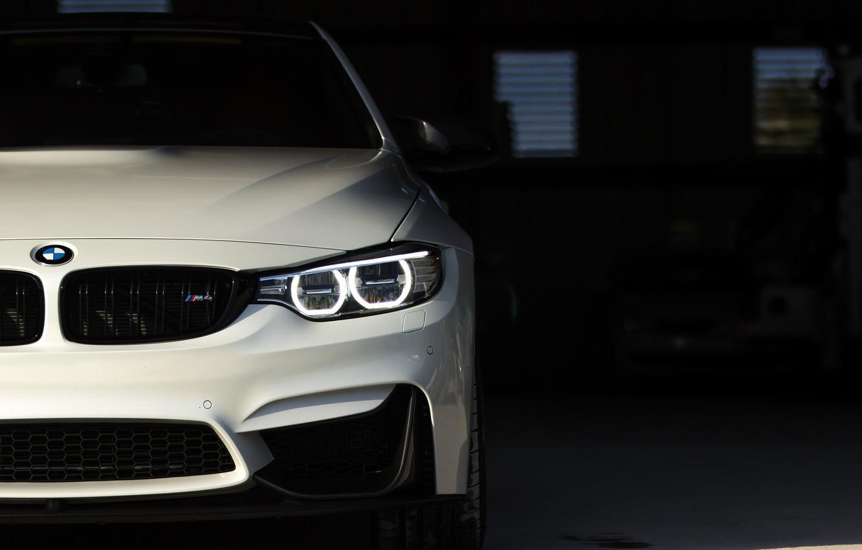 Фото обои BMW, Predator, White, Sight, LED, F83