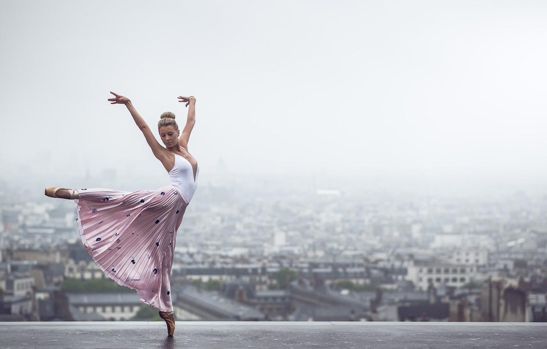 Фото обои настроение, Франция, Париж, танец, балерина, Johanna Lorand Guilbert