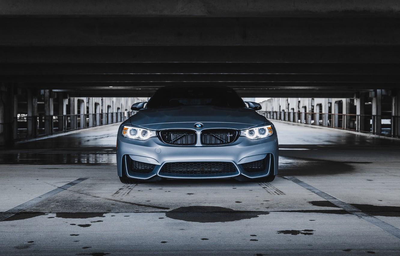 Фото обои BMW, Silver, F82, Sight, LED