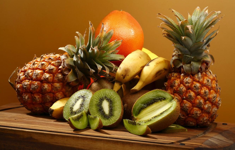 комната, картинка на рабочий стол экзотические фрукты станет приятным подарком