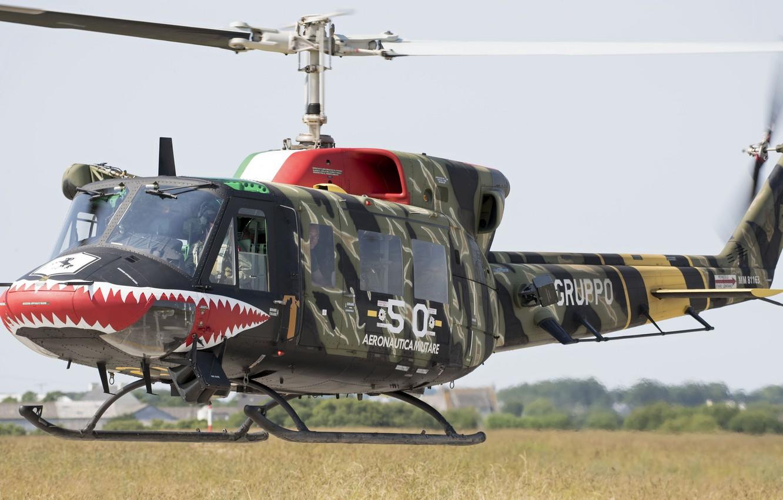 Обои AB-212, Agusta-Bell, транспортный вертолёт. Авиация foto 13
