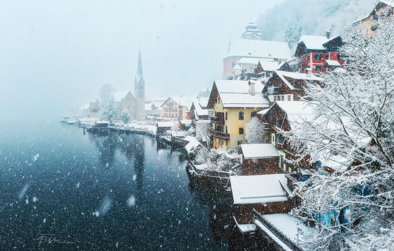Картинки на рабочий стол снежный город