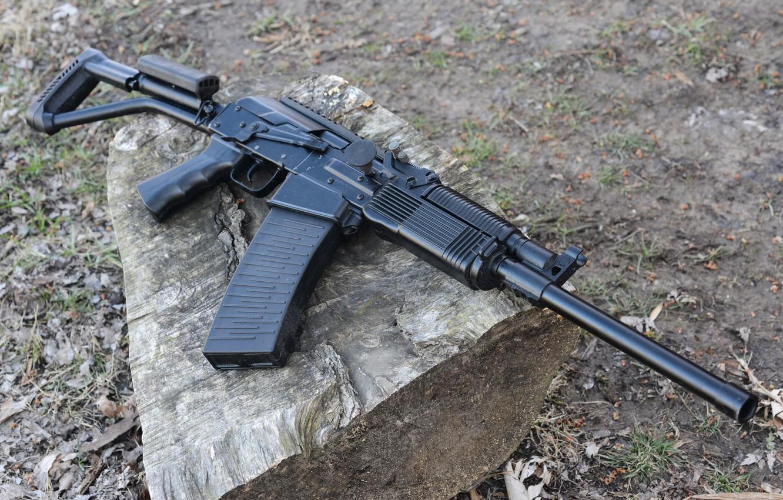 Фото обои ружьё, Россия, карабин, самозарядный, гладкоствольный, Вепрь-12