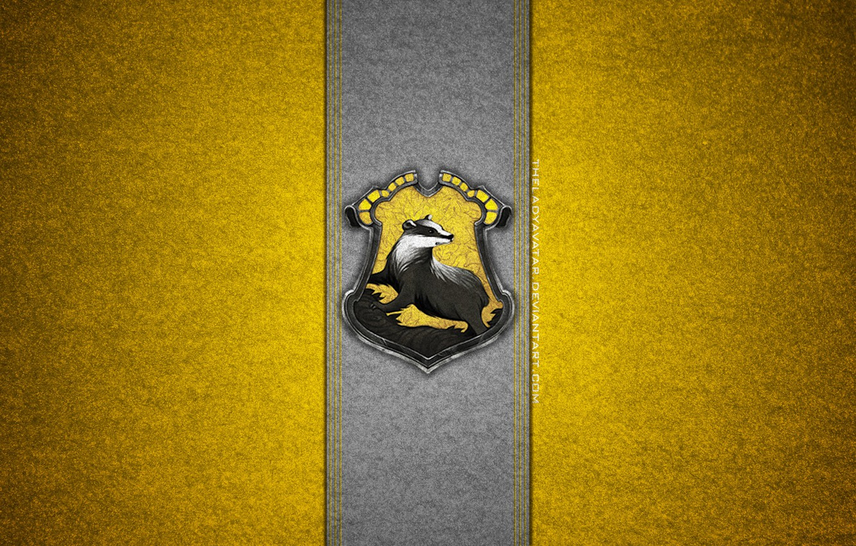 обои герб Harry Potter хогвартс барсук Deviantart
