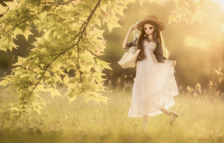Обои платье, Кукла, барышня. Разное foto 7