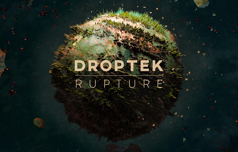 Фото обои Music, Cover, Monstercat, Droptek, Rupture