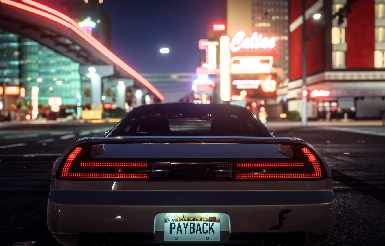 Фото обои город, улица, автомобиль, Need For Speed Payback
