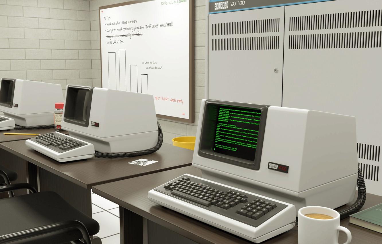 Фото обои компьютер, техно, эвм